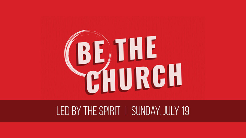 Led by the Spirit Image